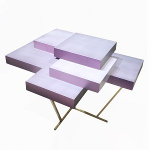 Pixel Table Pearl - Edition 2 of 10 by Ilia Potemine