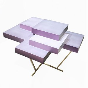 Pixel Table Pearl - Edition 3 of 10 by Ilia Potemine
