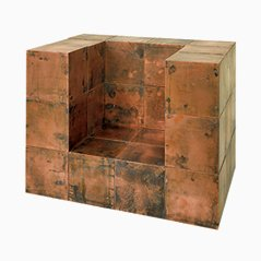 Copper Cubes by Paul Kelley, Set of 10