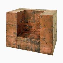 Würfel aus Kupfer von Paul Kelley, 10er Set