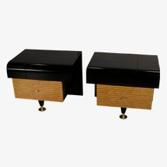 Nightstands by Pierre Cardin, 1970s, Set of 2