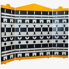 Ollo Three-Panel Screen by Alessandro Mendini
