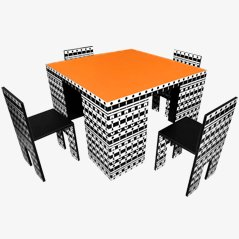 Ollo Dining Set by Alessandro Mendini