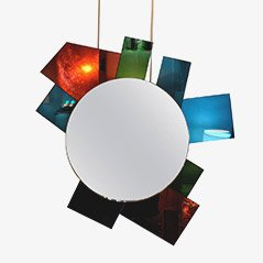 Mirror by Ettore Sottsass, 1989