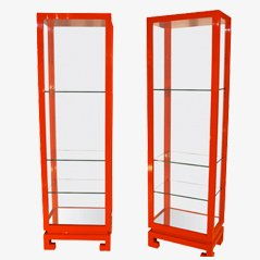 Lacquered Vintage Shelves, 1978, Set of 2