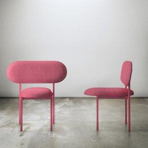 Re-Imagined Chair 02 Originale Rose par Nina Tolstrup