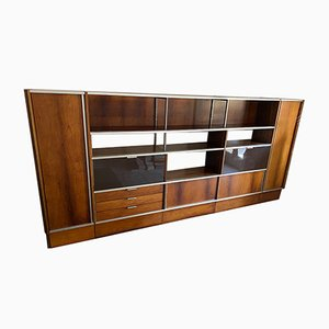 Rosewood Bookcase by Georges Frydman for EFA, 1950s