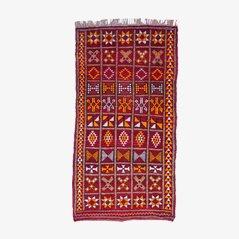 Vintage Moroccan Zemmour Berber Rug, 1970s