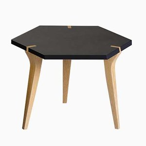 Low Black Tabuli Table by Vincenzo Castellana for DESINE