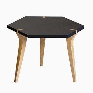 Niedriger schwarzer Tabuli Tisch von Vincenzo Castellana für DESINE, 2018