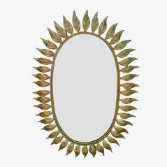 Sun Shaped Mirror, 1950s
