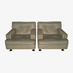 Armchairs by Marco Zanuso for Arflex, Set of 2