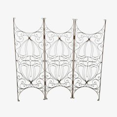 Mid Century Spanish Iron Screen