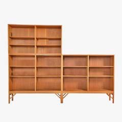 Mid Century Wall Unit by Børge Mogensen for FDB, 1954