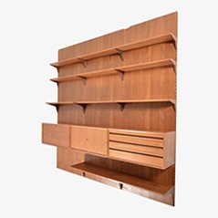 Mid Century Wall Unit by Poul Cadovius for Cado, 1960s