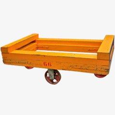 Vintage Rollwagen aus Holz