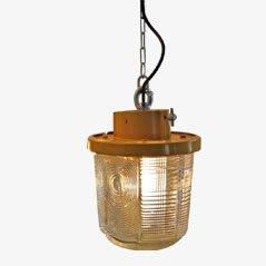 Vintage Shiphol Airport Hanging Lamp
