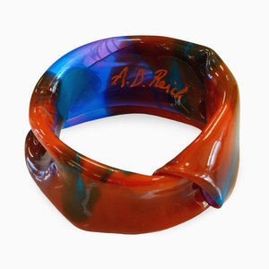 Polychrome Resin Bracelet 701 by Andrea Dasha Reich