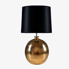 Lampe de Bureau en Or Laqué par Bitossi pour Bergbom