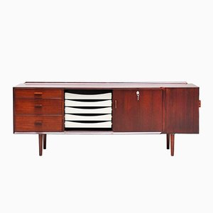 Brazilian Rosewood Sideboard by Arne Vodder for Sibast, 1960s