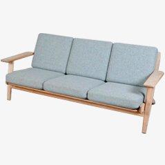 Hans J. Wegner 3-Sitzer Sofa GE 290