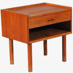 Vintage Bedside Table by Hans J. Wegner for Ry Furniture