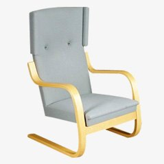 Vintage 401 Lounge Chair by Alvar Aalto for Artek Finland