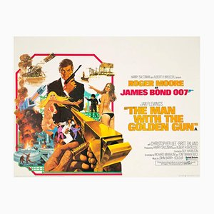 The Man with the Golden Gun Poster, 1974