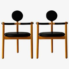PAN Armchairs by Vico Magistretti for Rosenthal, Set of 2