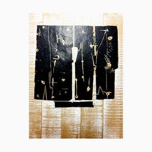 Composition Radierung von Pietro Consagra, 1959