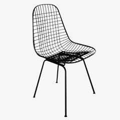 Wire Chair DKR by Charles & Ray Eames for Fehlbaum