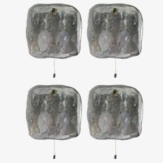 Set di applique Iceblock di Kalmar, anni '60