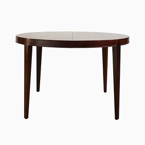 Mid-Century Rosewood Extendable Dining Table by Severin Hansen for Haslev Møbelsnedkeri, 1960s