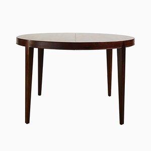 Table de Salle à Manger Extensible Mid-Century en Palissandre par Severin Hansen pour Haslev Møbelsnedkeri, 1960s