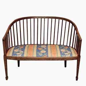 Art Deco Beech Bench