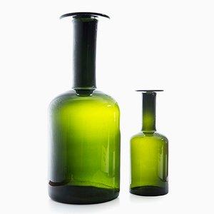 Vasen von Otto Brauer für Holmegaard, 2er Set
