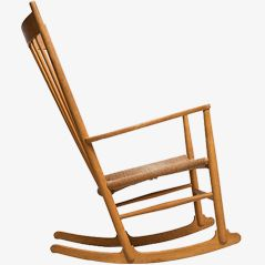 J16 Rocking Chair by Hans J. Wegner for FDB møbler