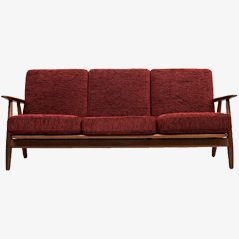 Cigar Sofa by Hans J. Wegner for Getama