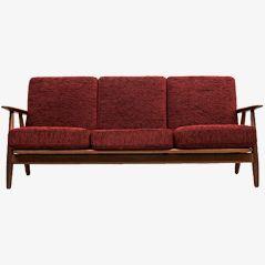 Cigar Sofa von Hans J. Wegner für Getama