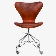 Bürostuhl von Arne Jacobsen für Fritz Hansen