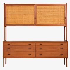 RY-20 Wall Unit by Hans Wegner for Ry Møbler, 1950s