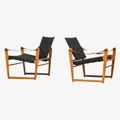 cikada easy chairs by bengt ruda for ikea 1962 set of 2 - Table De Salle A Manger Ikea1962