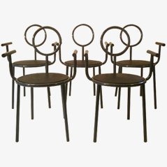 Stelline Stühle von Alessandro Mendini, 5er Set