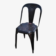 Chaise en Métal de Tolix, France