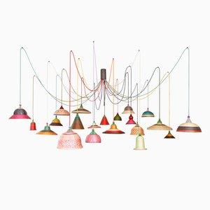 PET Lamp Kronleuchter von Alvaro Catalán de Ocón