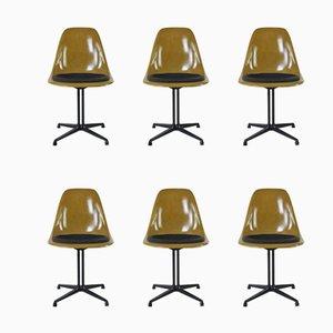 Chaises d'Appoint par Charles & Ray Eames, 1970s, Set de 6
