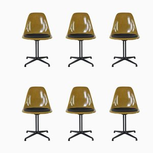 Side Chairs by Charles & Ray Eames, 1970s, Set of 6