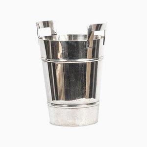 Silberner Weinkühler