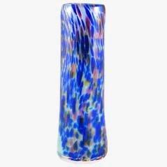 Vase aus Glas von C. Cobb, 1950er