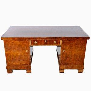 Freistehender Art Deco Schreibtisch